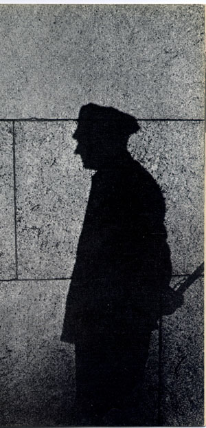 Shadow of a beat cop, source: columbia.edu